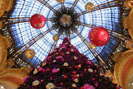 Christmas decorations galeries lafayette